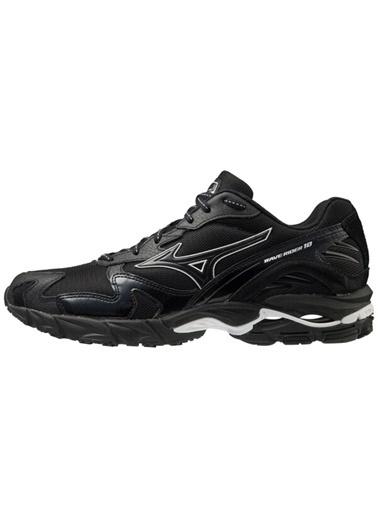 Mizuno Wave Rider 10 Kuro Unisex Günlük Giyim Ayakkabısı Siyah Siyah